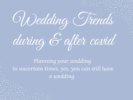 Elopement and Intimate wedding trends