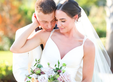 Jordan and Blake's Elegant Coastal Garden Wedding