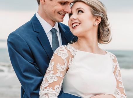 Hannah and Brady's Simply Beautiful Topsail Beach Wedding Elopement