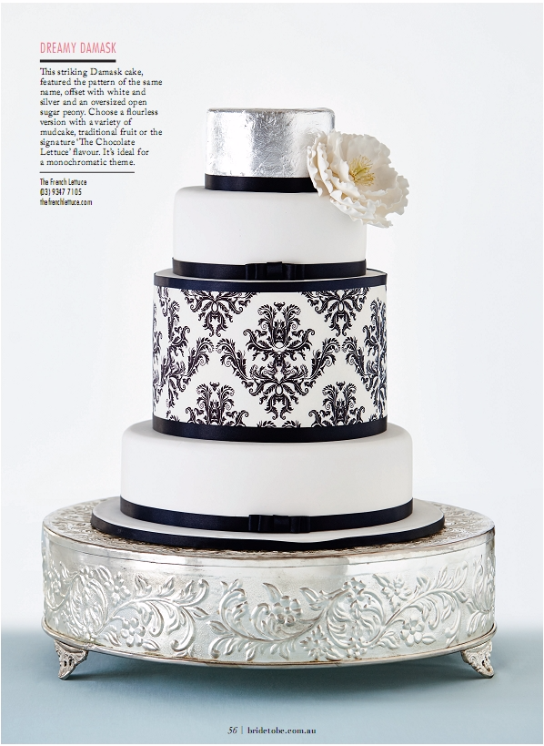 As seen in Bride to Be Magazine