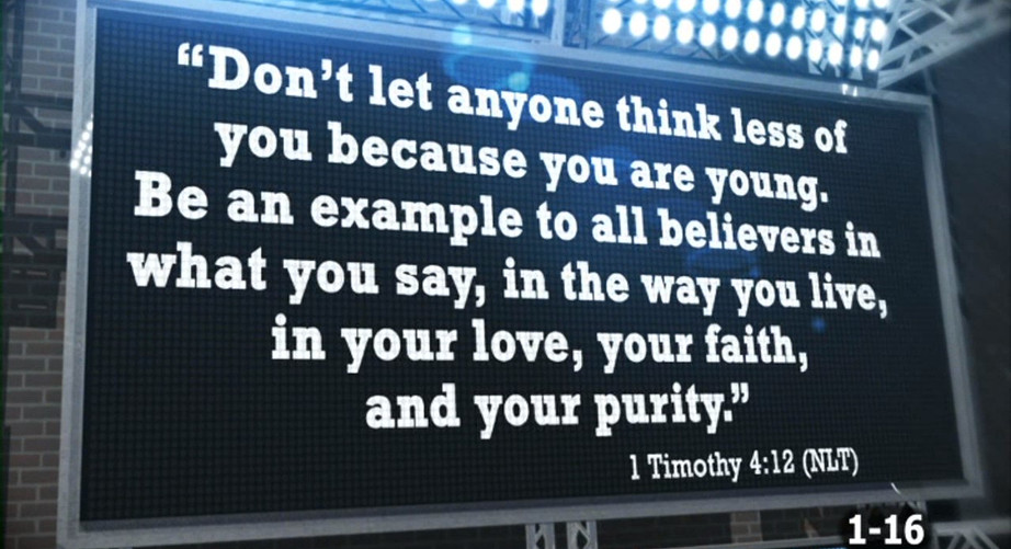 Lesson 1 Bible Verse