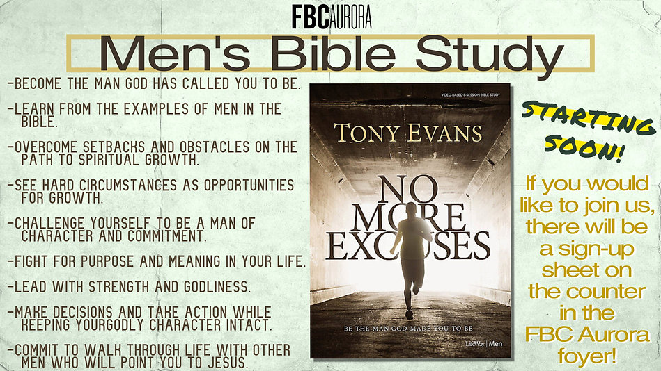 MBS- No More Excuses - Slide - Made with