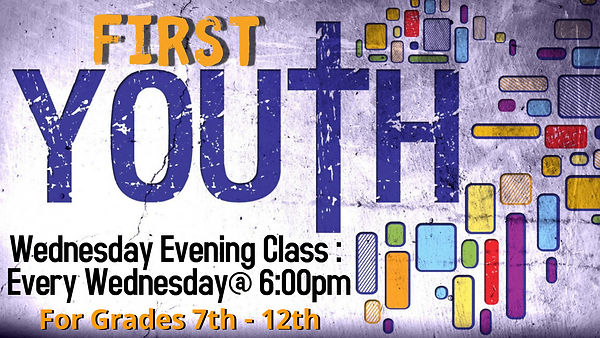d3 - First Youth Wednesday - Made with P