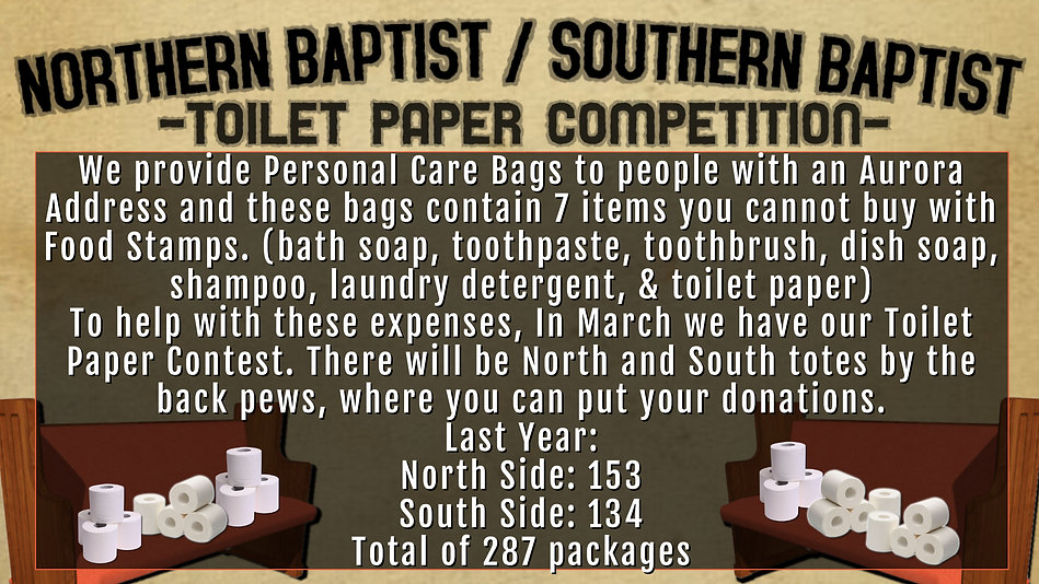 f3 - TOILET PAPER COMPETITION - Made wit