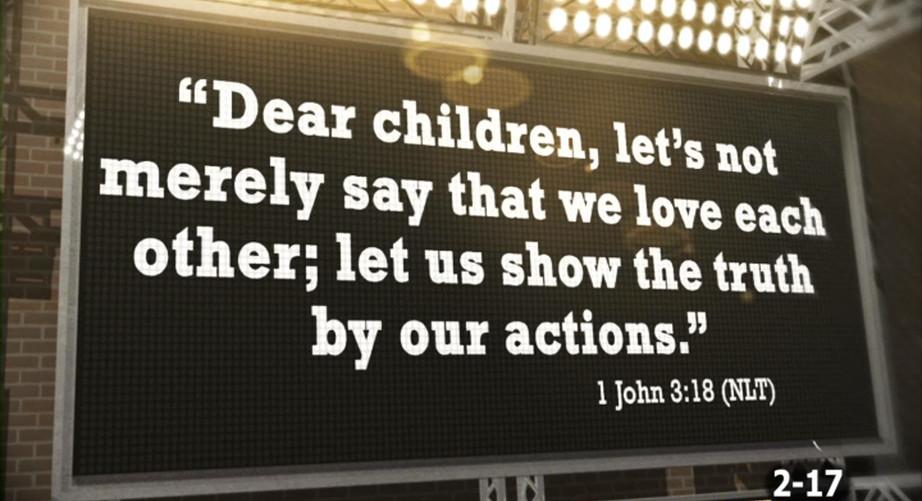 LESSON 2 BIBLE VERSE