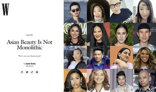W MAG - MAKEUP ARTIST NICK BAROSE - ASIAN BEAUTY IS NOT MONOLITHIC