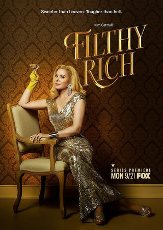 KIM CATRALL FOR FOX'S FILTHY RICH BY NICK BAROSE