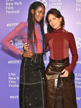 Mati+Diop+57th+New+York+Film+Festival+At