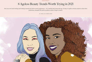 ALLURE - MAKEUP ARTIST BILLIE GENE SHARES BEAUTY TRENDS HE'S EXCITED FOR IN 2021