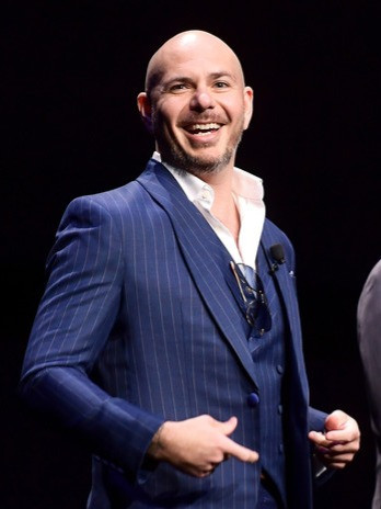 Pitbull+CinemaCon+2019+State+Industry+Pa