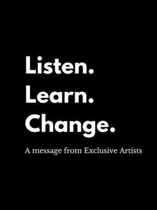 LISTEN. LEARN. CHANGE.