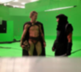 Behind the scenes of 300: rise of an empire Jesse La Flair