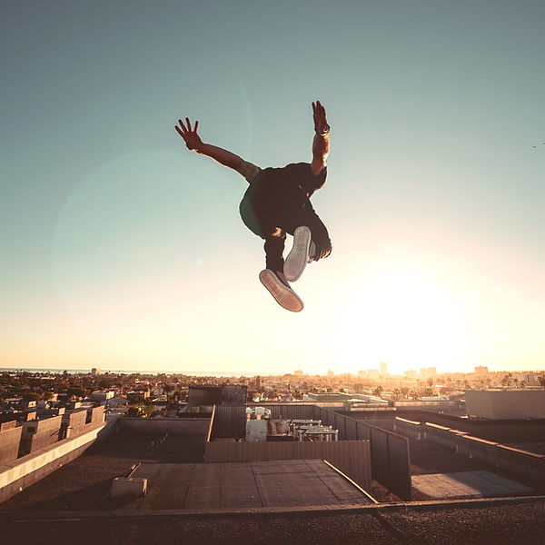 Jesse La Flair Professional Freerunning Athlete in Los Angeles