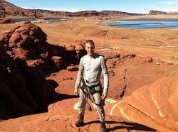 Jesse in Utah for After Earth Stunts