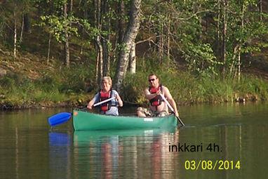 kanootti inkkari äijänkäppyrä action outdoor inkkarikanootti kanootti