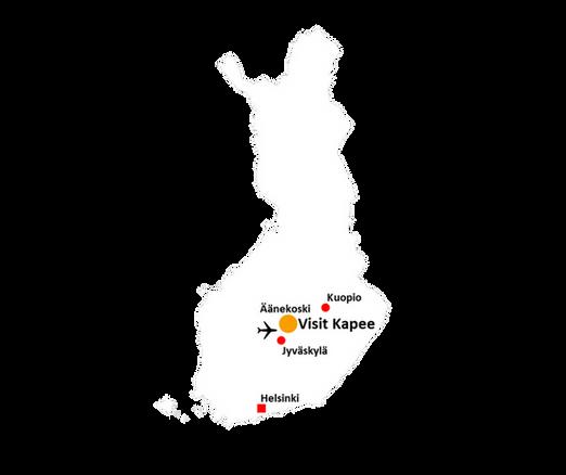 kartta lentoasema tikkakoski map airport