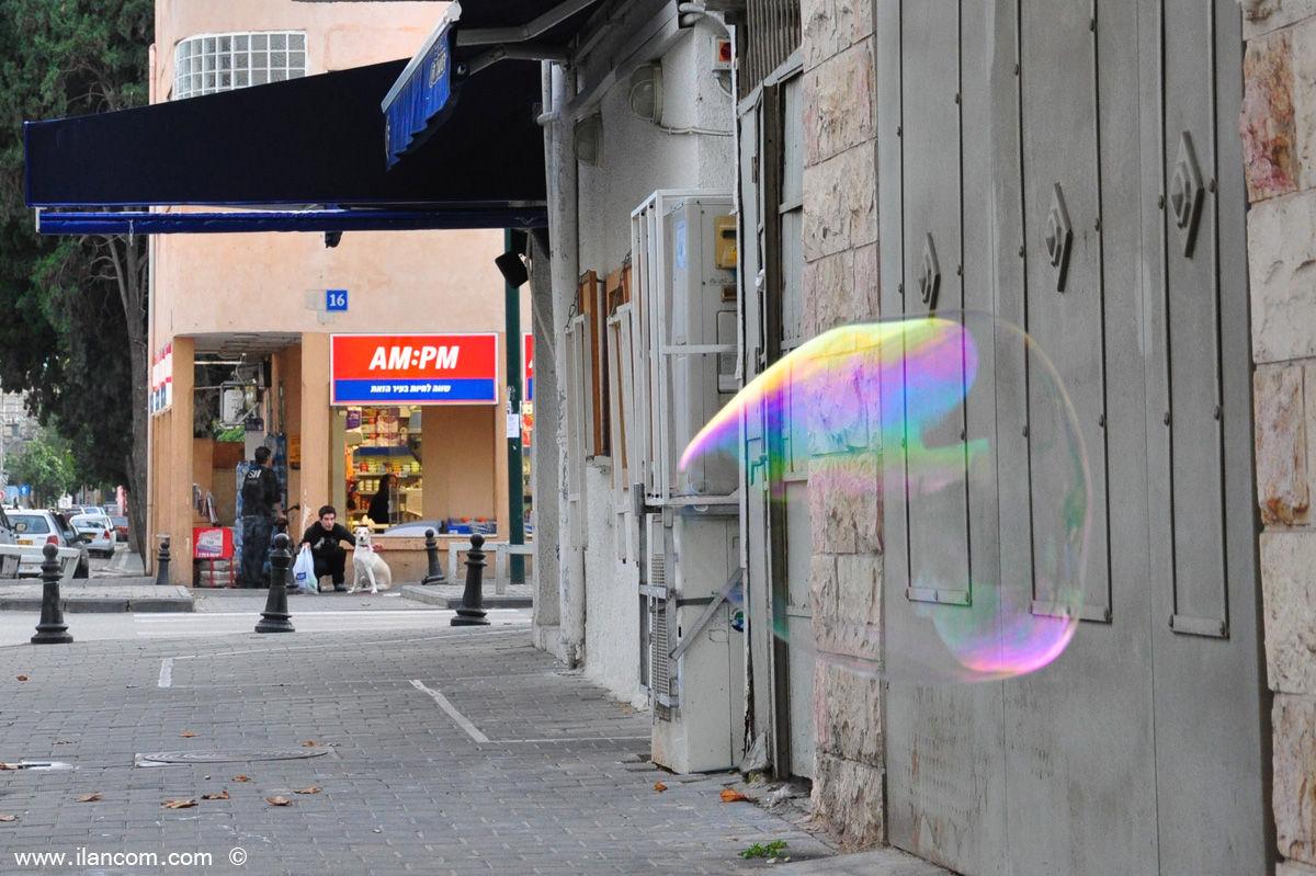 Shenkin Tel Aviv bubble