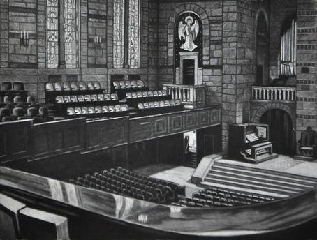 Fountain Street Church Interior