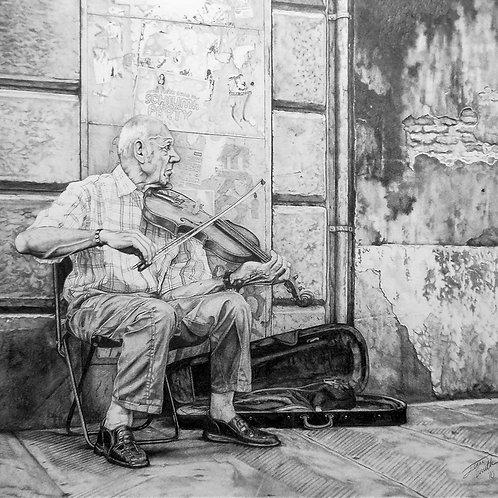 Print - Florentine Violinist