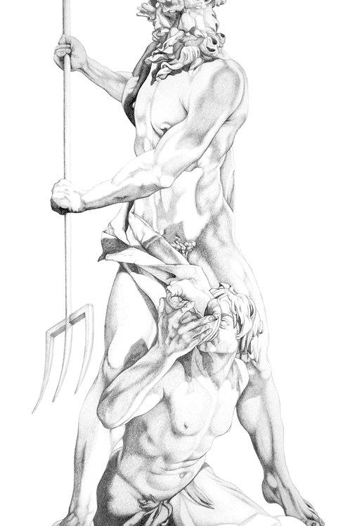 Print - Neptune and Triton