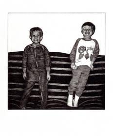 Me and Seb, c. 1997