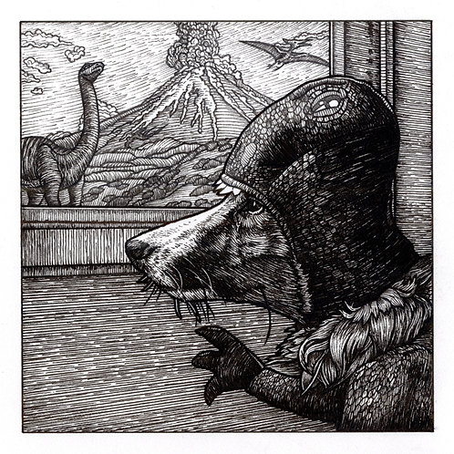 Print - Dinosaur Daydreams