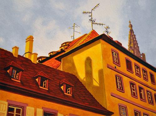 Print - Italian Rooftops