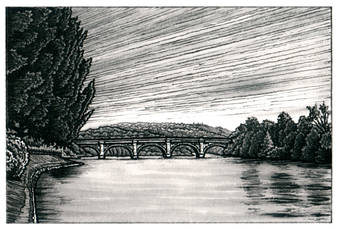 Telford Bridge Over the Tay