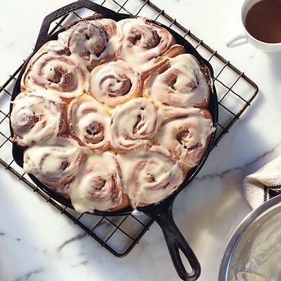 Rezept Dessert_Zimtrollen mit Frischkaes