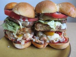 Triple Trouble Burger