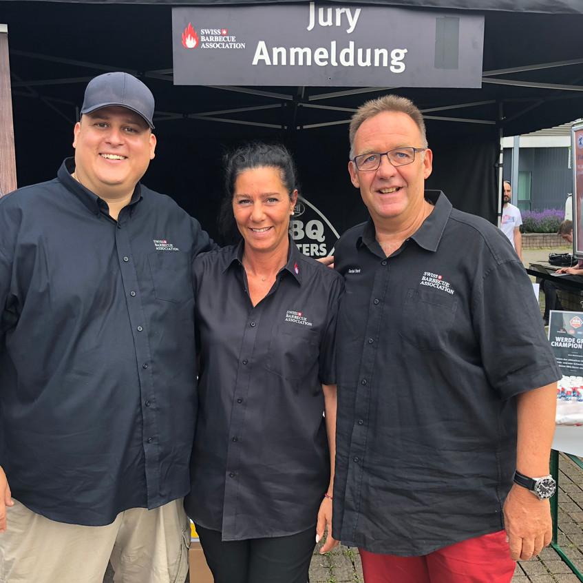 Le jury de la Swiss Barbecue Association