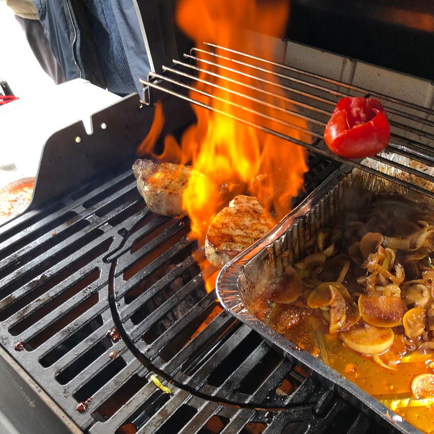 Flambierte_Steaks_in_Münchenstein