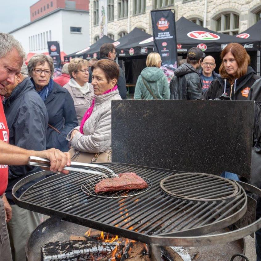 Attinger's BBQ Team im Einsatz - Platz 2