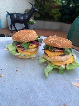 Homemade BigMac; mit Bell Naturabeef Burger Limousin