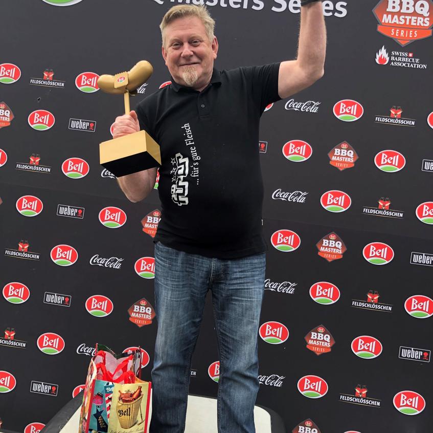 Martin Ruetti - Sieger der ersten Voraus