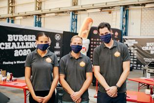 Dienstbare Helfer - die Adcom-Crew