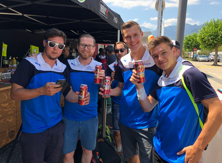 Ambiance football au centre Riviera