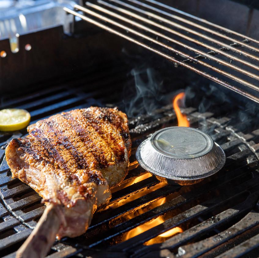 Reto Kaisers Tomahawk Steak