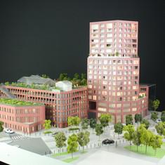 Maquette Viseo à Nantes - Promotion immobilière - Groupe Giboire