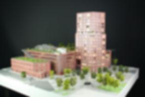 Maquette Viseo à Nantes - Promotion immobilière - Atelier Pyramid