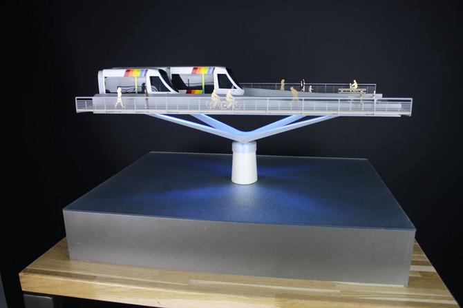 Alterpont - Maquette urbanisme - Atelier Pyramid