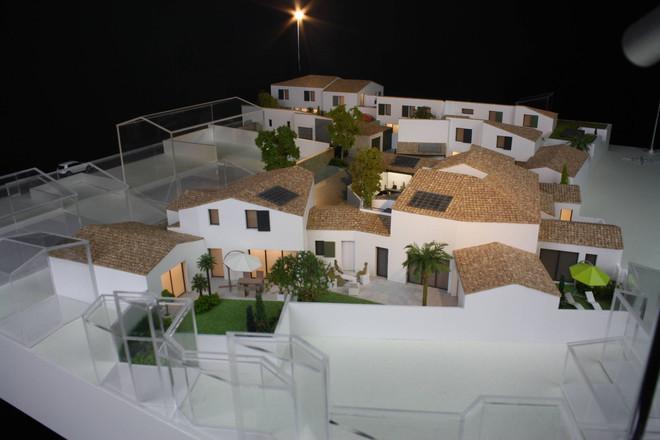 Maquette Le Privilège à La Rochelle - Promotion immobilière - Atelier Pyramid