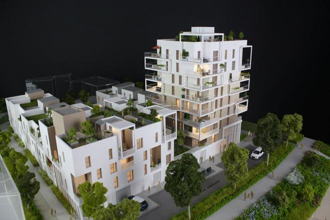 Maquette Rio à Rennes - Promotion immobilière - Atelier Pyramid
