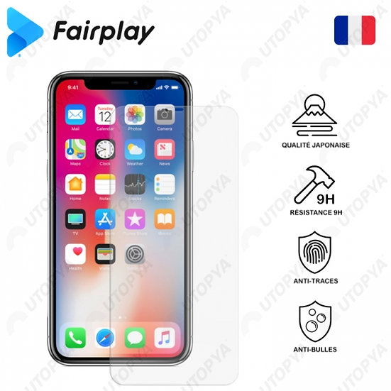 Verre Trempé FAIRPLAY PRIME iPhone
