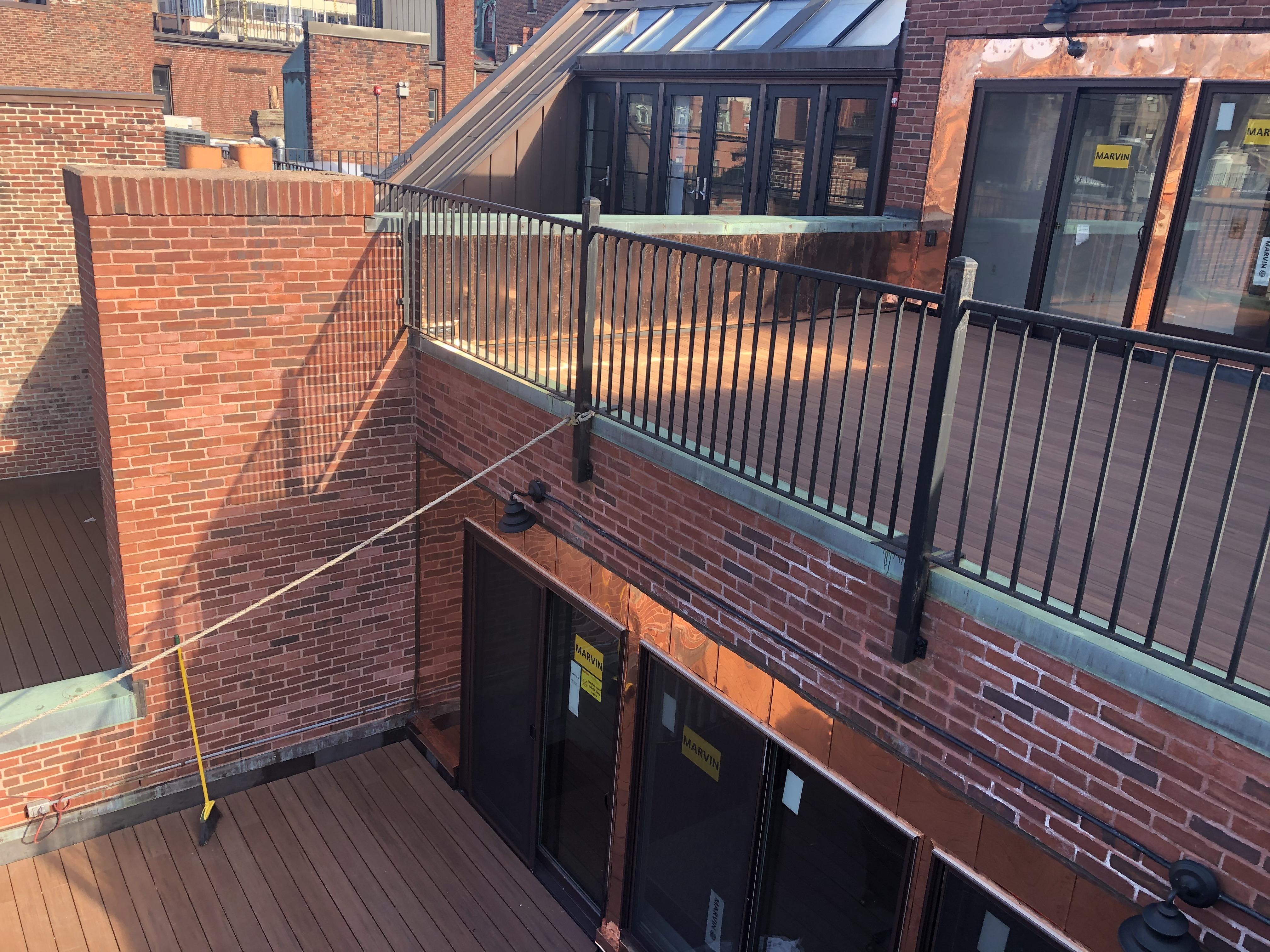 Newbury St. Roof Deck