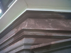 Repaired Molding Section