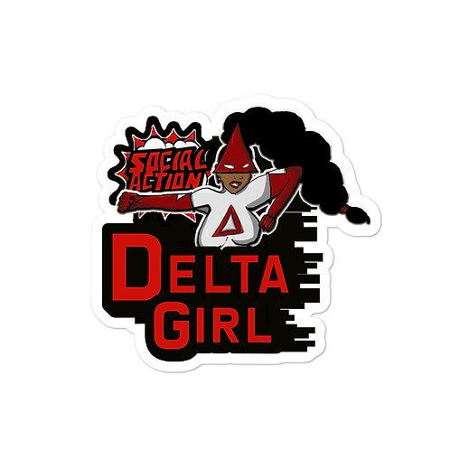 Delta Girl stickers