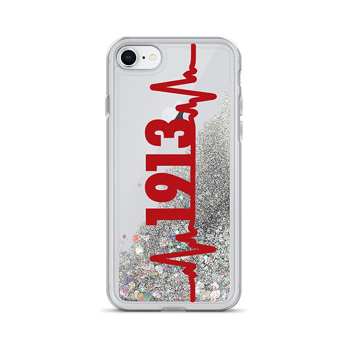 Heartbeat 1913 Liquid Glitter Phone Case