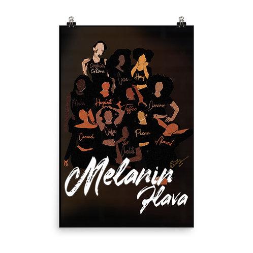 Melanin Flava Print