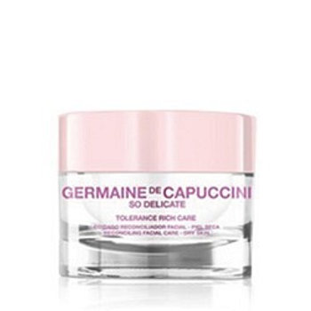 GERMAINE DE CAPUCCINI SO DELICATE SO DELICATE TOLERANCE RICH CARE TROCKENE HAUT 200 ML